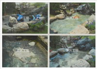 景觀魚池FRP防蝕防水工程