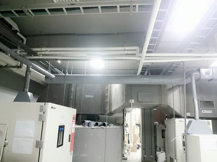 廠房烤箱機台排氣散熱