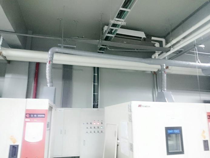 廠房機台排氣散熱