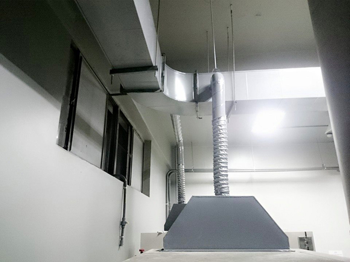 工廠作業廠內排氣通風工程