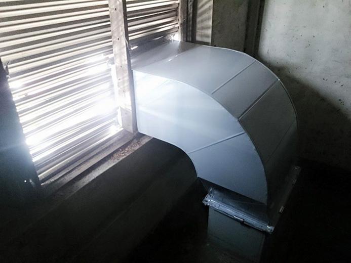 工廠作業排氣通風系統