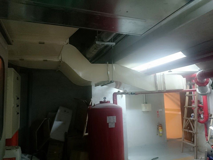地下室通風排氣工程