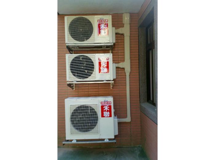 分離式冷氣多台室外機安裝架架設