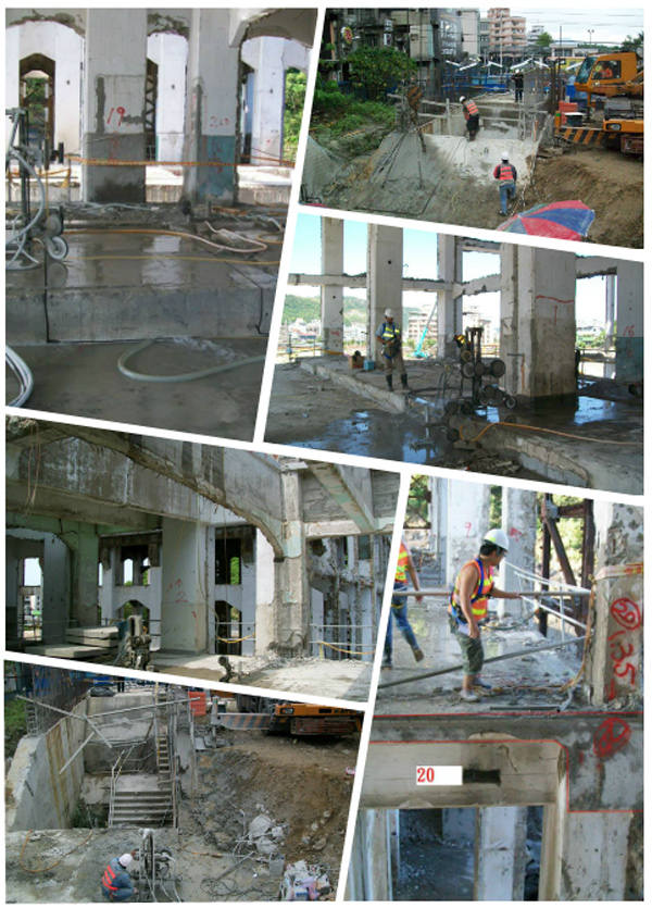 混凝土鏈鋸切割工程