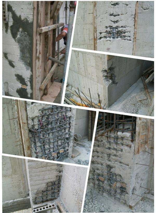 無收縮水泥灌注-蜂巢