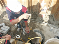 水泥鑽孔工程、鑽孔工程