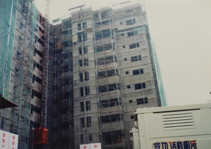 大樓鋼管鷹架工程