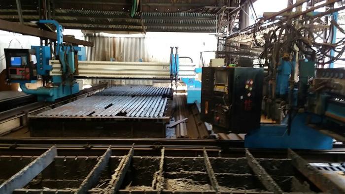 cnc火燄鋼板切割