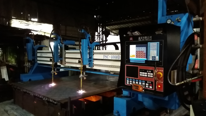 cnc電腦火燄切割機械台