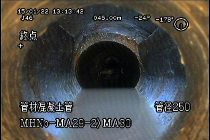 下水道TV(彩色)檢視錄影