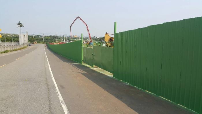 工地鋼板圍籬