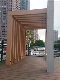 塑木平台 / 格柵