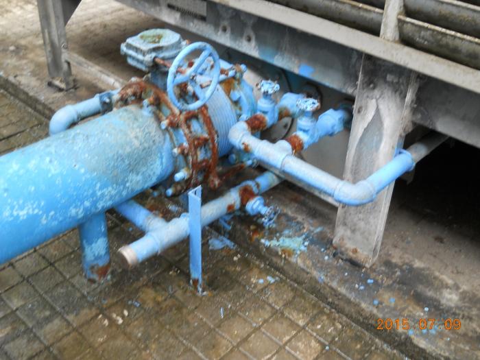 頂樓給水配管修繕工程