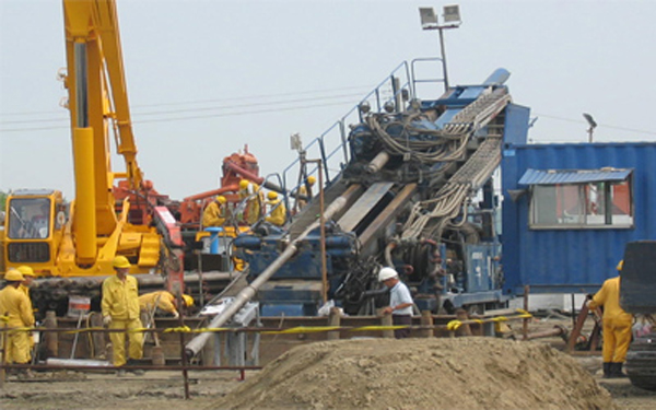 八掌溪高嘉長途油管HDD遷管工程