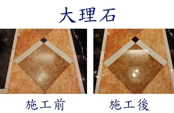 大理石美容保養、石材鏡面研磨
