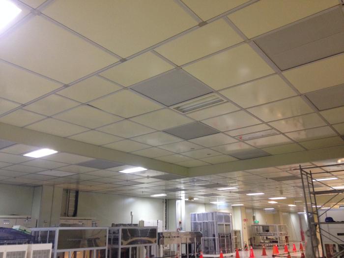 Ceiling grid天花板