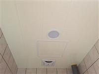 浴室長條PVC天花板
