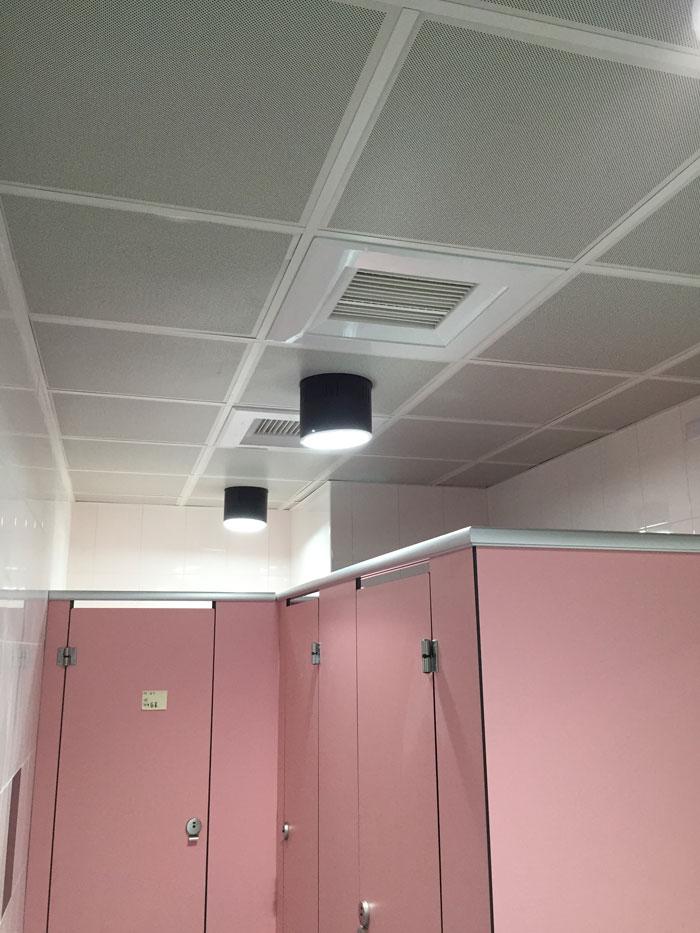 明架鋁沖板天花板