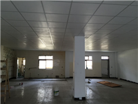 明架矽酸鈣板天花板