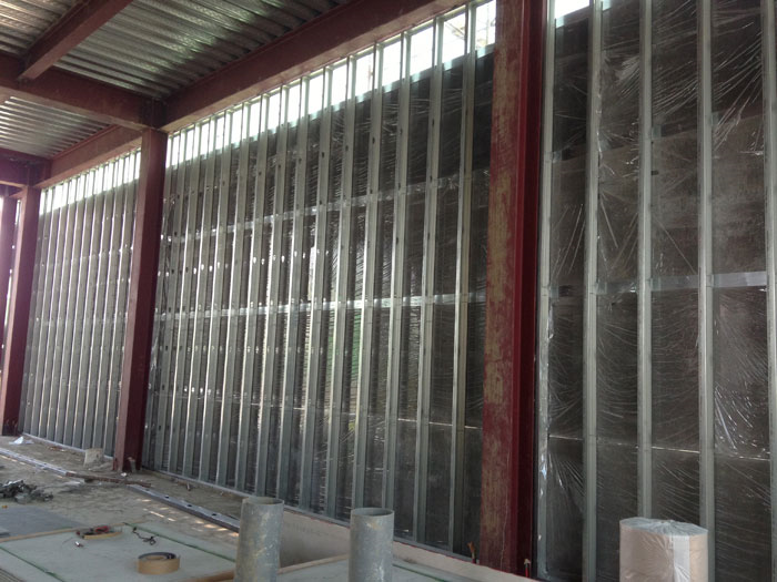外牆水泥板隔間牆