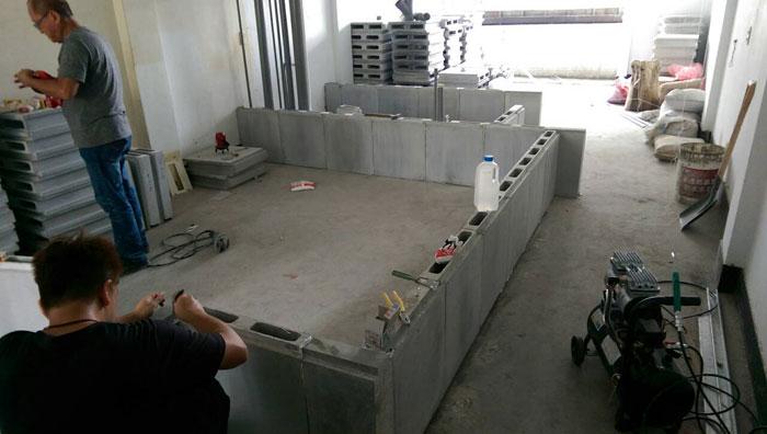 室內輕質隔間磚