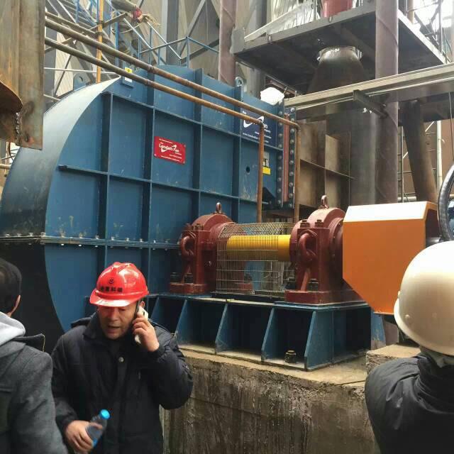 工業用大型風機現場試車
