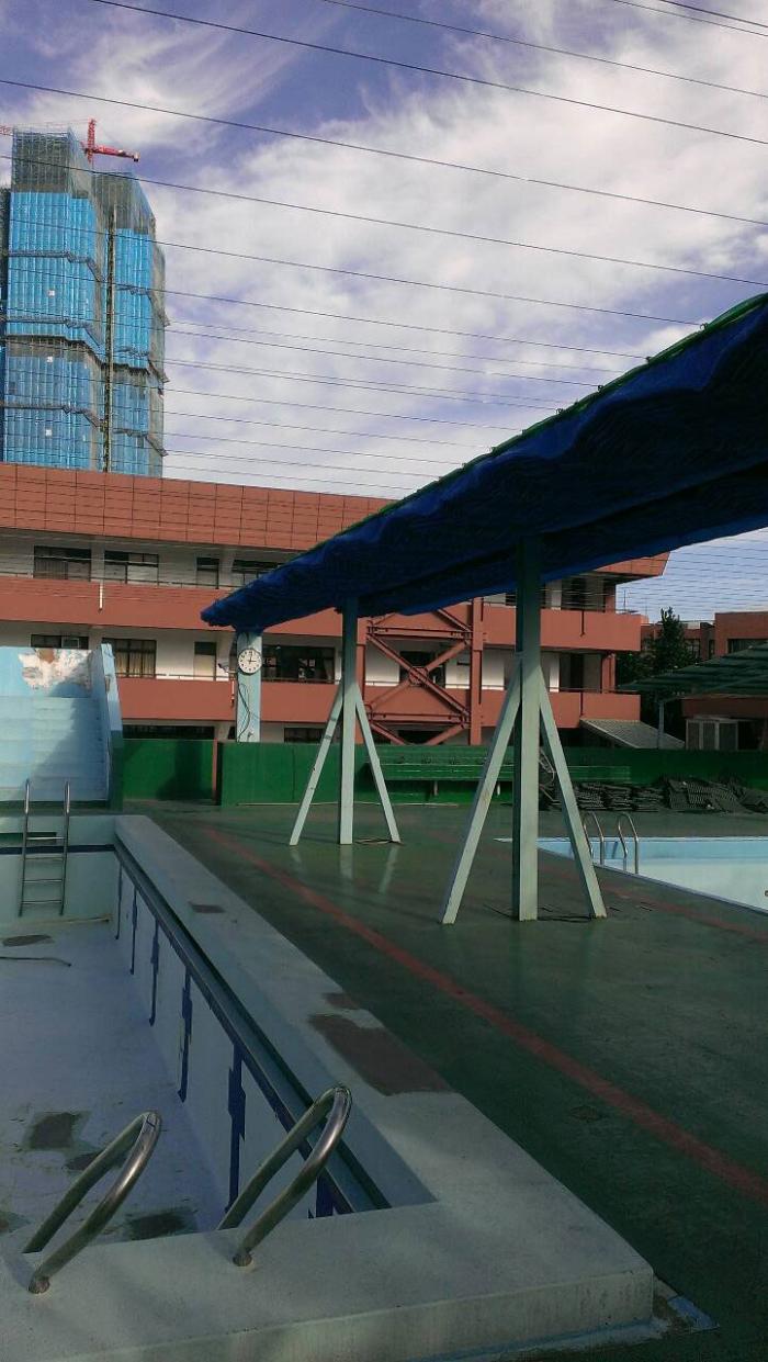 游泳池遮陽網