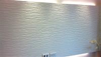 電視牆壁板油漆粉刷