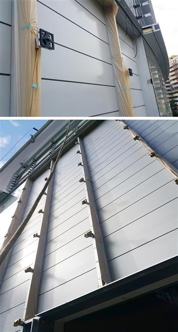 外牆鋁板油漆噴塗