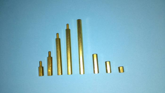 六角銅柱/六角螺帽/各種特殊尺寸/特殊牙距。
