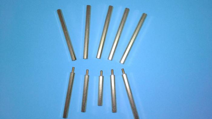 各種六角銅柱