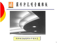 圓形沖孔吸音纖維板