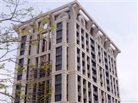樑柱鋁包板及鑄鋁飛簷造型