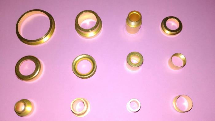 銅套(套銅)(自動車床生產製造)