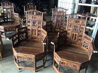 竹製太師椅