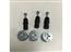 系統櫃KD組合器_轉盤+8mm膨脹螺絲
