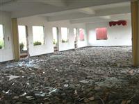 打石工派遣-室內地上打石