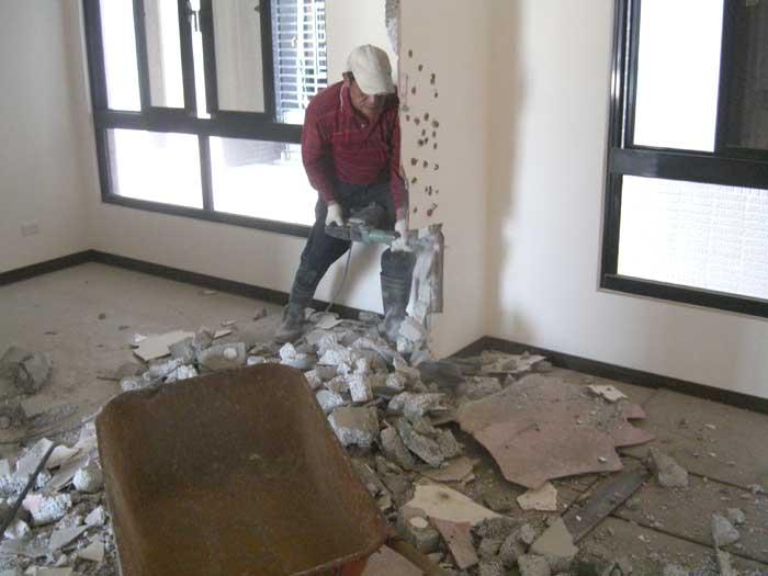 打石工派遣-牆壁打石