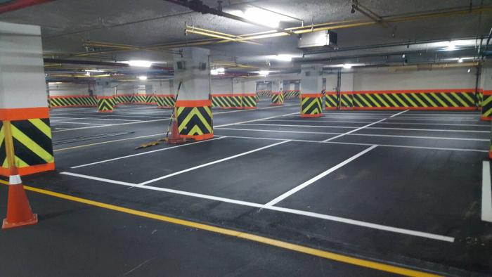 停車場瀝青柏油地坪鋪設
