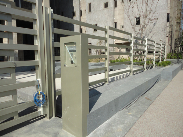 金屬造型欄杆、扶手欄杆烤漆