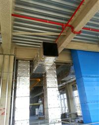 中央空調冷氣風管保溫工程