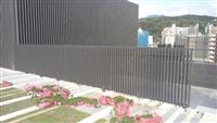 鋁格柵欄杆、鋁格柵屋頂欄杆