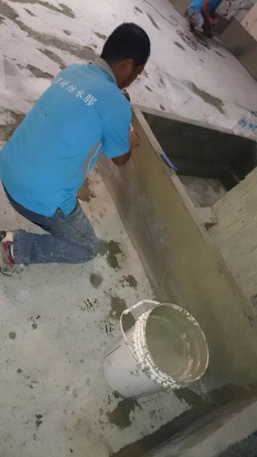 百貨美食專櫃廚房防水工程