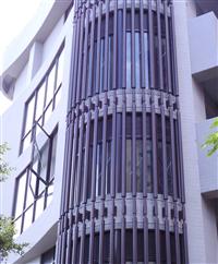 造型鋁格柵