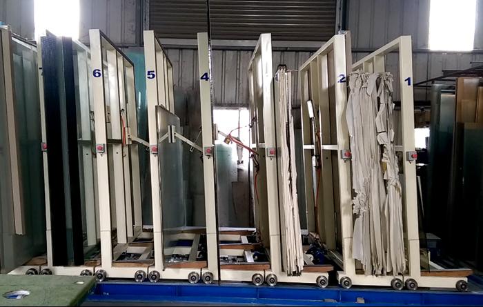 單列自動化倉儲設備