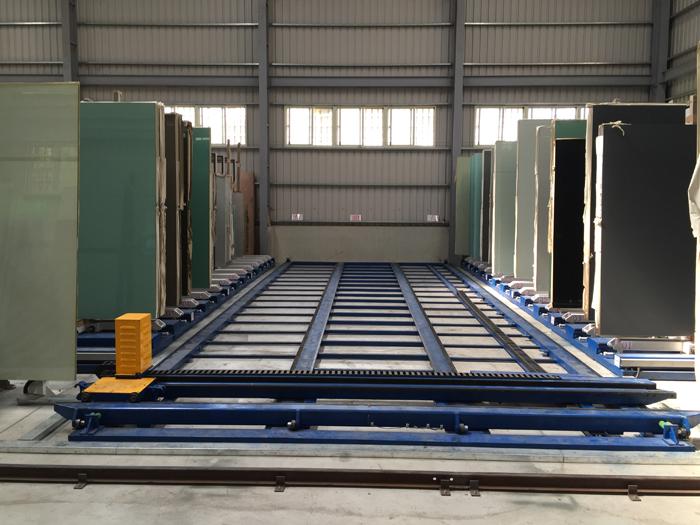 雙列自動化倉儲設備