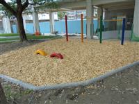 兒童木削砂坑