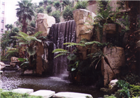 GRC瀑布假山水池