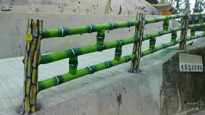 RC仿竹木欄杆