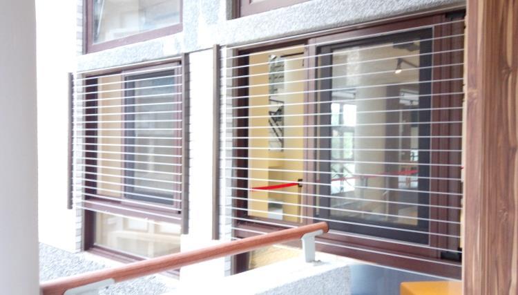 兒童防墜窗―機關學校
